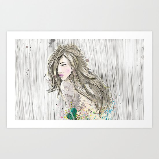 women_colors Art Print