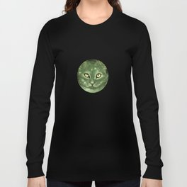 Fern Cat- El gato helecho Long Sleeve T-shirt