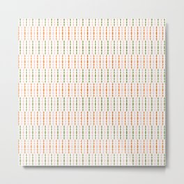 Primitive Pastel Arrows Metal Print