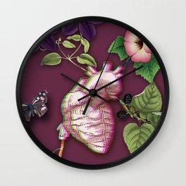 RIPENED HEART Wall Clock