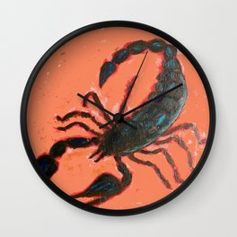 Arizona Scorpion Wall Clock