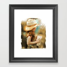 My Popcorn Framed Art Print