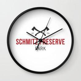 Schmitz Preserve Park Wall Clock