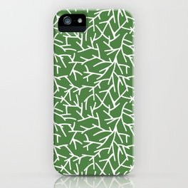 Branches - green iPhone Case