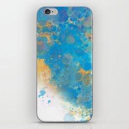 Blue Invasion  iPhone Skin