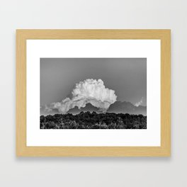 Clouds in Pennsylvania Framed Art Print