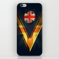 british iPhone & iPod Skins featuring British by ilustrarte