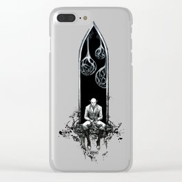 Degrees of separation Clear iPhone Case