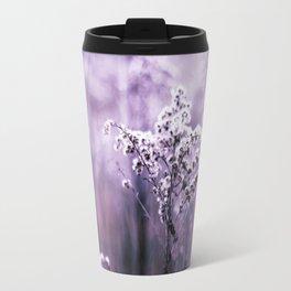 Ultraviolet grasses Travel Mug