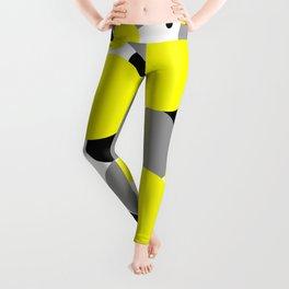 Yellow Polka Dots Leggings