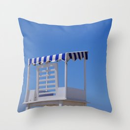 Baywatch seat Throw Pillow