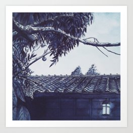 Pearls of Kyoto #3 Art Print