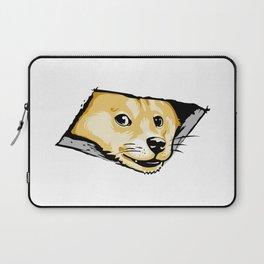 Ceiling Doge Laptop Sleeve