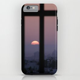 Sunrise prison iPhone Case