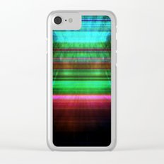 Abstract #11 Clear iPhone Case