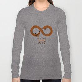 Seamless Dachshund pattern Long Sleeve T-shirt