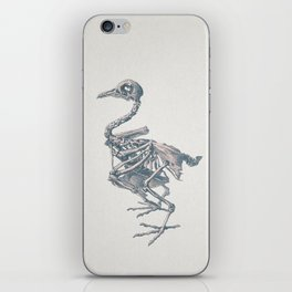 Noble death of chicken iPhone Skin