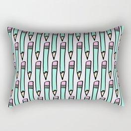Pastel pencils Rectangular Pillow