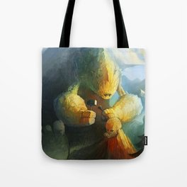 Mountain Birth Tote Bag