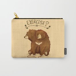 Fitness Bear by Devon Baker Carry-All Pouch