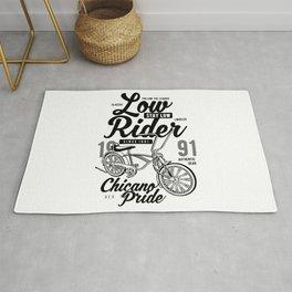Low Rider bike Rug