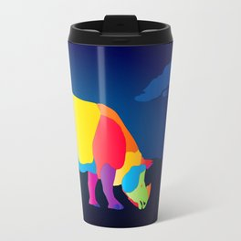 Paper Craft Rhino Travel Mug