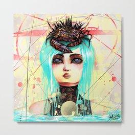 New Queen. Metal Print