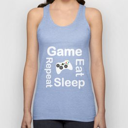 Game Eat Sleep Repeat New T-Shirt Unisex Tank Top