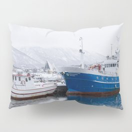 Boats in Tromso Pillow Sham