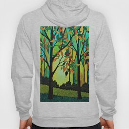 Rusty Leaves Hoody