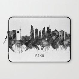 Baku Azerbaijan Skyline BW Laptop Sleeve