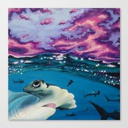 Hammerhead Storm Canvas Print