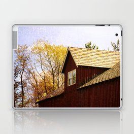 Vintage Red Barn Laptop & iPad Skin