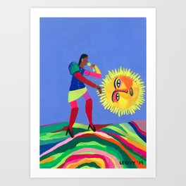 Changing Luck Art Print