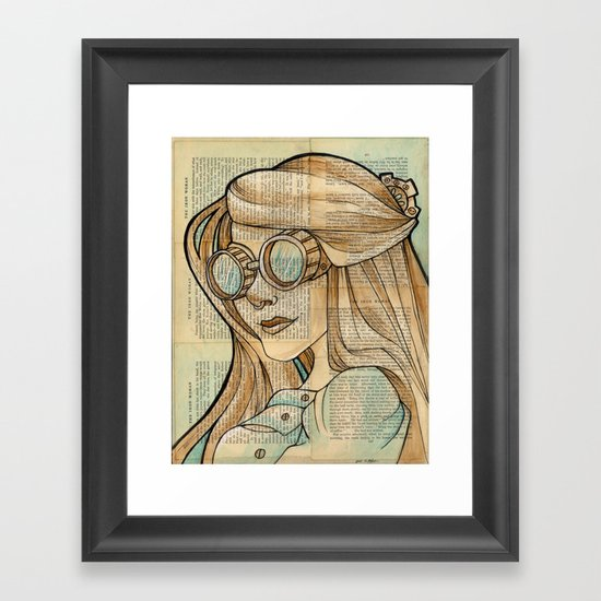 Iron Woman 1 Framed Art Print