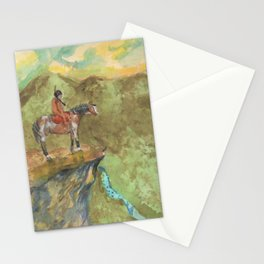 """""""Scout"""" Stationery Cards"""