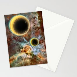 Crescent Mead Moons Stationery Cards