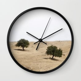 The holm oak Wall Clock