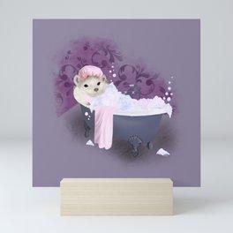 Bubble Bath Joy Mini Art Print