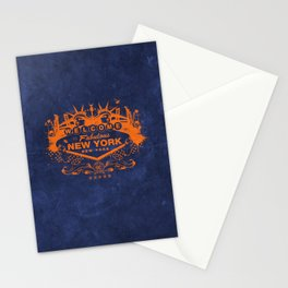 Sin City (Orange/Blue) Stationery Cards