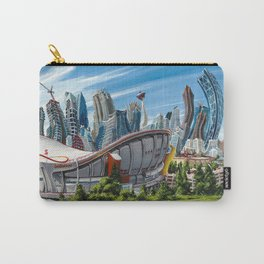 Downtown Calgary Skyline Carry-All Pouch