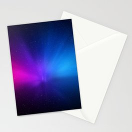 Galaxy space art Stationery Cards
