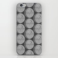 death star iPhone & iPod Skins featuring Star Wars Death Star by foreverwars