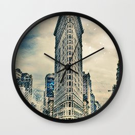 Flatron Building - New York City Wall Clock