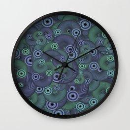 Slinky Eyes Wall Clock