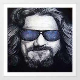 The Dude Lebowski Art Print