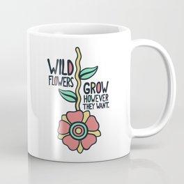 W/LDFLOWER Coffee Mug
