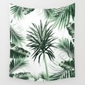Tropical Summer Vibes Leaves Mix #2 #tropical #decor #art #society6 by anitabellajantz