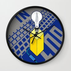The case of The Light Switch. Wall Clock