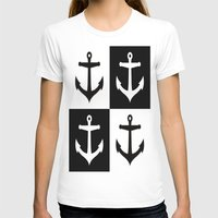 anchors T-shirts featuring Anchors Aweigh by floridagurl